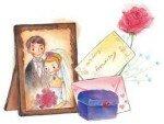 Первая годовщина свадьбы: что подарить?